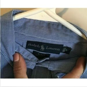 "MEN'S RALPH LAUREN ""BLAKE"" SHORT SLEEVE SHIRT"